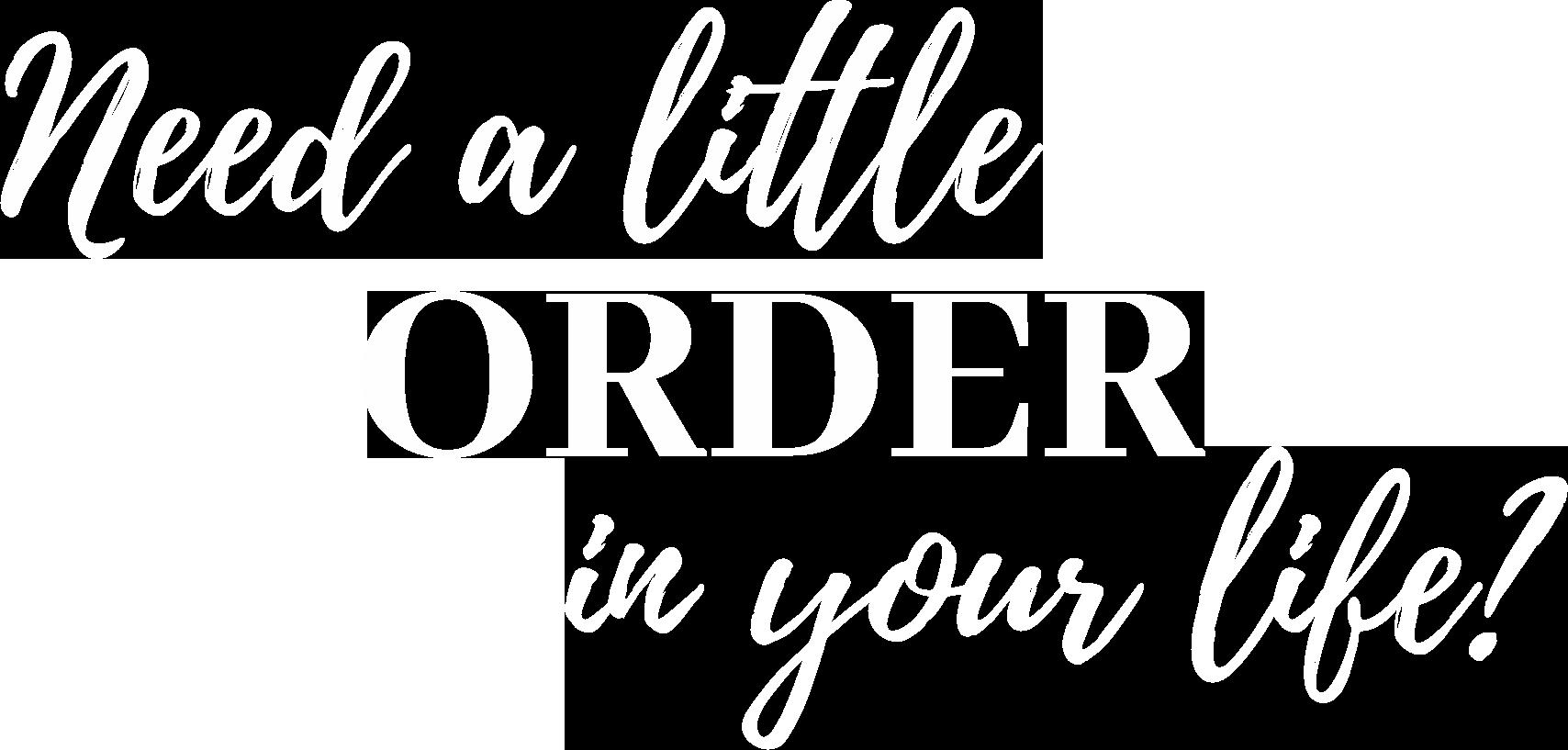 Get Organized Yuma Arizona House of Order