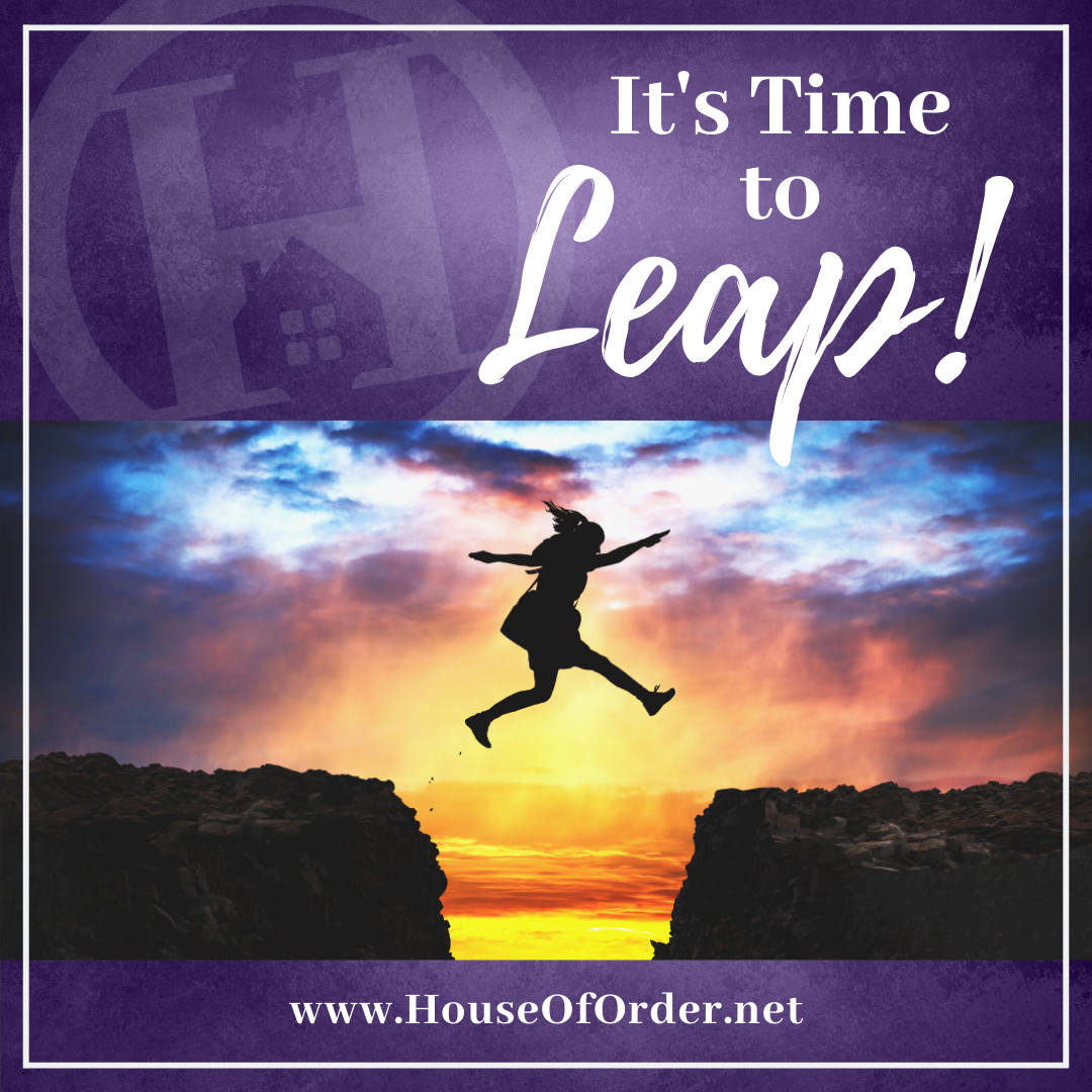 It's Time to Leap Blog Post