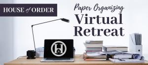 Paper Organizing Virtual Retreat
